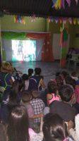 """Festejos de fin de año en el programa """"Cartoneritos"""""""