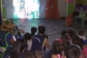 Festejos de fin de año en el programa «Cartoneritos»