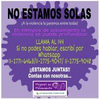 #noestamossolas